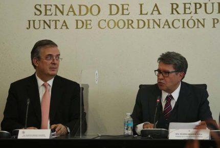 México pidió corresponsabilidad a EU en tráfico de armas: Ebrard