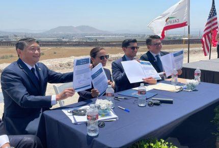 Acuerdan México y EU construir un nuevo cruce fronterizo