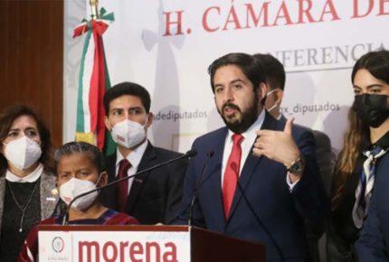 Morena acusa golpismo del INE por actualización de distritación