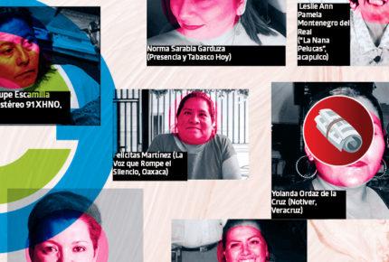 Crecen ataques contra mujeres periodistas