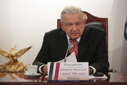 AMLO condena encierro y toque de queda ante G20