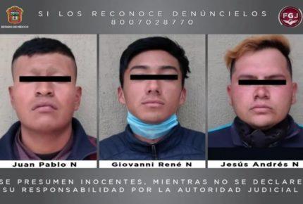 Vinculan a proceso a tres hombres por tomar caseta en el Edomex