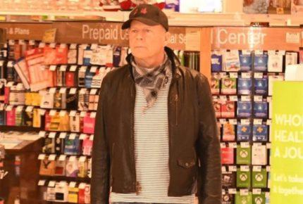 Echan a Bruce Willis de farmacia por negarse a usar mascarilla