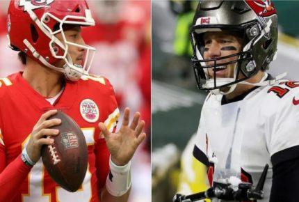 Mahomes contra Brady, el duelo generacional del Super Bowl LV