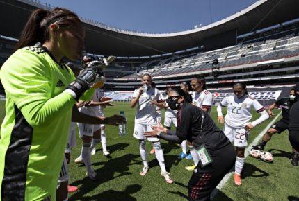 ¡Goleadoras! 'Tri' Femenil logra victoria en su regreso al Azteca