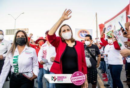 PRI avala que Graciela Ortiz se sume a campaña de Maru Campos