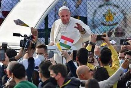 "Papa se dice ""lleno de gratitud"" tras viaje a Irak"