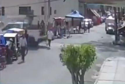 Camioneta de la Guardia Nacional atropella a mujer en Neza