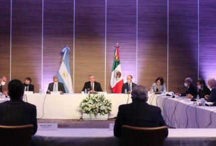 Presidente de Argentina se reúne con empresarios en México
