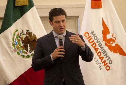 Prevé INE multa de 55 mdp a Samuel García por 'stories' de su esposa