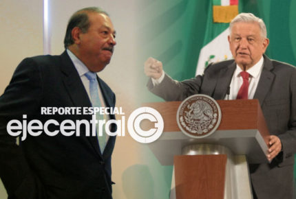 AMLO salpica a Calderón y sale en defensa de Slim