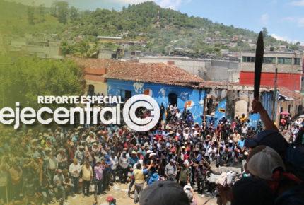 Escala la rebelión en Los Altos de Chiapas