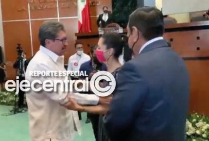 Monreal y Sheinbaum, cara a cara en Guerrero