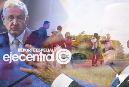 AMLO urge a Biden aplicar plan migratorio para Centroamérica