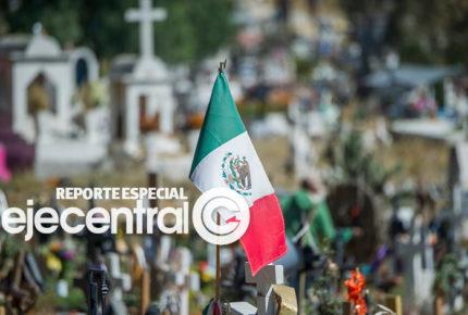 Cada 3 minutos una persona muere en México por Covid