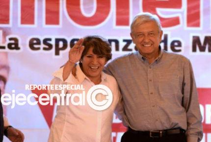 Nombran a Delfina Gómez al frente de la SEP