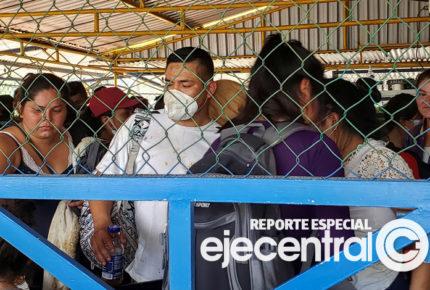 Desastre humanitario en la frontera