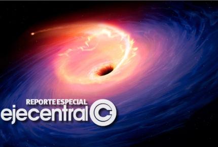 Revelan nueva imagen del agujero negro