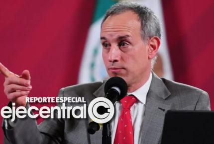 Los cortos alicientes de hugo López-Gatell