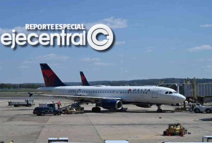 """Delta manda a """"volar' la Sana Distancia"""