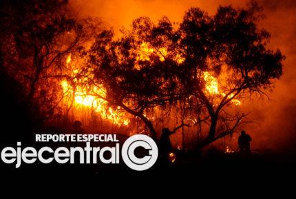 México, entre la sequía y los incendios