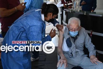 241 mil adultos mayores eluden vacuna en CDMX