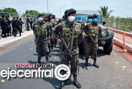 Biden logra militarización de fronteras en Centroamérica