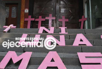 Gobernación reconoce aumento en feminicidios