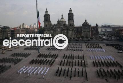 Megaproyectos y labores contra Covid enmarcan desfile militar