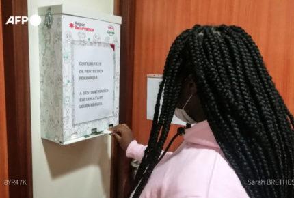 Estudiantes en Francia tendrán protección higiénica gratuita