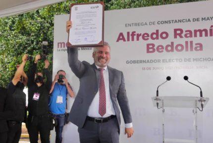 Tribunal Electoral de Michoacán ratifica triunfo de Ramírez Bedolla