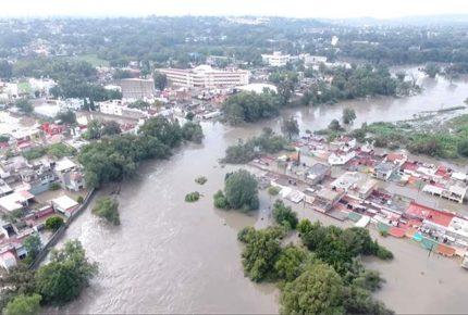 Ante inundaciones, tunden a la 4T por desaparición del Fonden