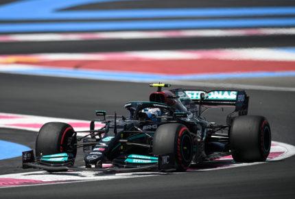 Bottas logra el mejor tiempo en primera sesión de libres del GP de Francia