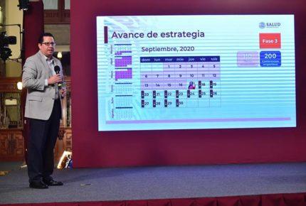 México recibirá 35 millones de dosis de vacuna contra influenza