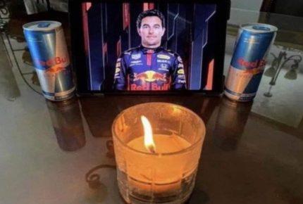 """¿Aburrido? Los memes del anuncio de """"Checo"""" Pérez con Red Bull"""