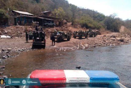 SSP investiga zona de conflicto en Coyuca, Guerrero