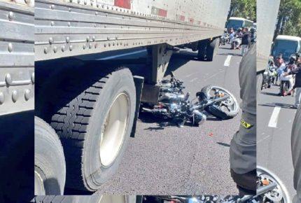 Accidente de motociclistas habría sido por exceso de velocidad