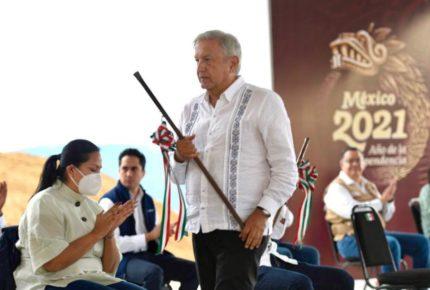 Desde Oaxaca, AMLO llama a la unidad del pueblo