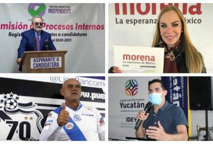 Partidos apuestan por famosos frente al proceso electoral