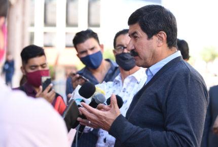 """""""Urgente"""" cerrar válvulas de La Boquilla, pidió Corral a AMLO"""
