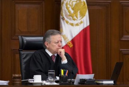 Zaldívar presenta al pleno de la Corte consulta sobre ampliación de su mandato