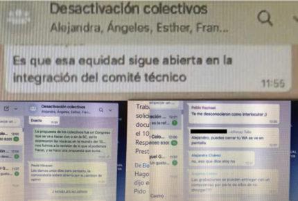 """Funcionarios de Cultura tienen chat para """"desactivar colectivos"""""""