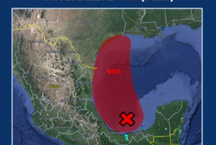 Tormenta tropical 'Nicholas' dejará lluvias torrenciales: Conagua