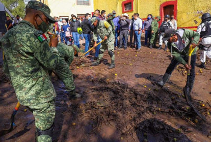 Inundaciones dejan cientos de damnificados en Zacatecas