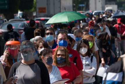 10 estados acumulan 67% de casos de Covid-19 en México