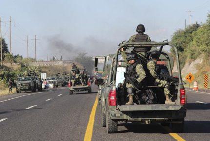 Reportan desaparición de agentes del Ejército en Michoacán