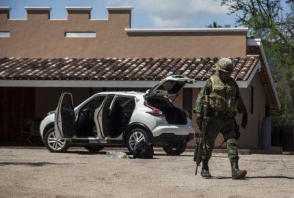 La fiscalía de Morelos catea un rancho de una célula del  CJNG
