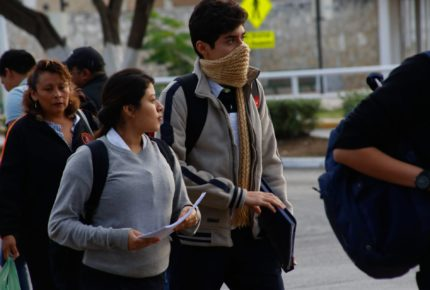Frente frío provocará bajas temperaturas en el norte del país