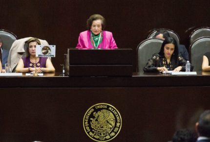 Senado postula a Ifigenia Martínez para medalla Belisario Domínguez