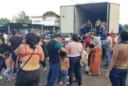 Rescatan a más de 200 migrantes en Veracruz